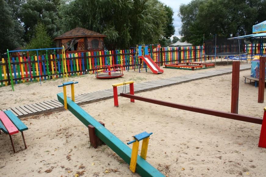 детская площадка в парке Дружбы Народов